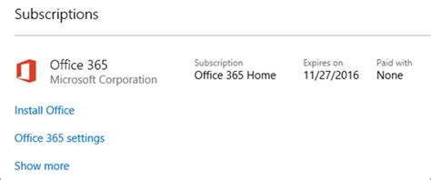 Office 365 Your Subscription Has Expired Turn Automatic Renewal On Or For Office 365 For Home