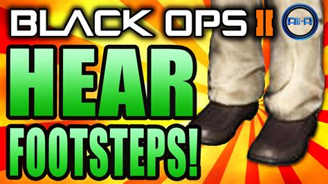what do u call hear that is black with blonde underneath black ops 2 how to hear footsteps best audio settings