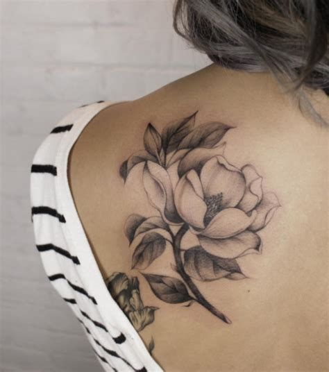 best floral tattoo artists in toronto fleur de liv