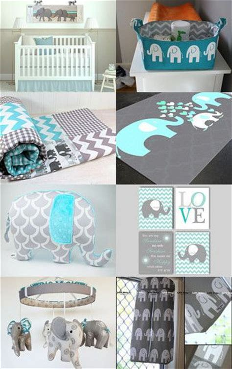 baby themes for boys turquoise elephant nursery rooms by authenticaa on etsy