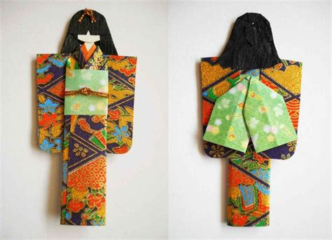 Origami Kimono Doll - 1000 images about washi dolls on origami