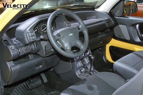 land rover freelander interior 2003 land rover freelander se3 review