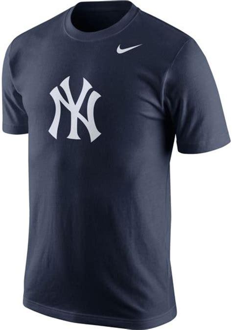 Sweater Sweatshirt Yankees Nike Terlaris nike s new york yankees logo t shirt in blue for navy lyst