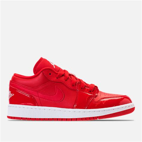 finish line youth basketball shoes grade school air 1 low basketball shoes