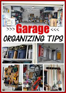 organizing tips for garage nine tips to get your garage organized hip2save