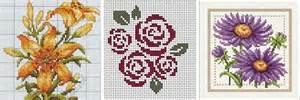 вышивка крестом серия акварельные