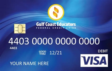 How To Check The Amount On A Visa Gift Card - visa 174 debit card gulf coast educators federal credit union