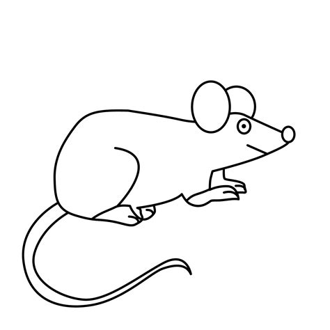 Coloring Pages Animals Free Downloads Mouse Coloring Pages