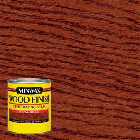 Oak Interior Doors Home Depot Minwax 1 Qt Wood Finish Sedona Red Oil Based Interior