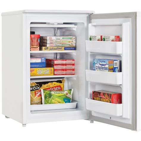 Small Home Freezers Costco Danby 4 3 Cu Ft Upright Freezer White Dufm043a1wdd