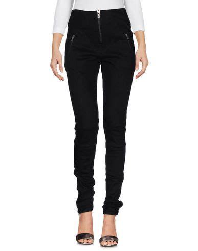 Pant Wash Prada Milan marcelo burlon county of milan denim trousers in black