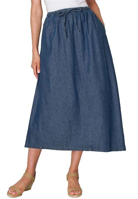 plus size mini skirt jean denim mini affordable trendy