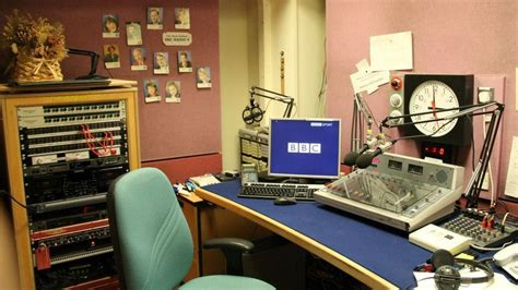 radio studio desk weather weather broadcasting the decades