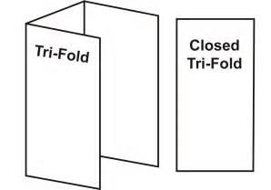 tri fold sample of tri fold