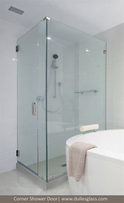 17 best ideas about corner shower doors on