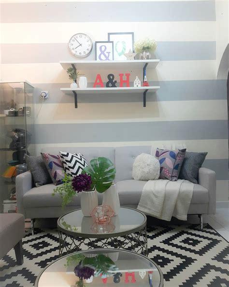 Rak Buku Dinding Cantik 12 ide dan cara menata ruang tamu minimalis makin cantik