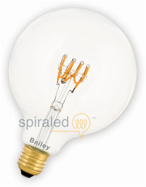 spiraaled leslie led filament helder 4w vervangt 40w - Lesele Led