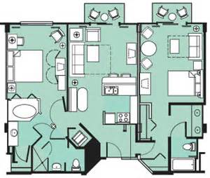Beach Club Villas Floor Plan Beach Club Villas Mouseketrips