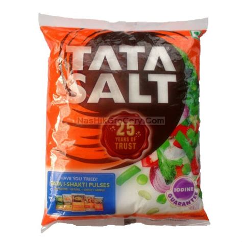Tata Salt, 1 Kg Packet.   Online Nashik Kirana / Grocery Shopping In Maharashtra India; NasHik