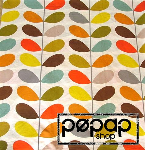 pattern orla kiely review orla kiely 100 cotton fabric multi stem by alchemyandfabric