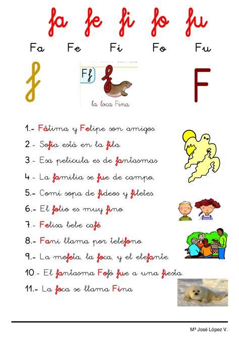 lecturas letra f lecturas 2 f