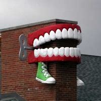 Chompers Dental Office Key by Forest Park Il Wind Up Teeth