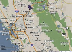 auburn california map sighting reports 2010
