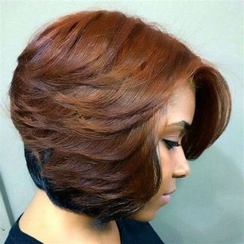 Layered Weave Hairstyles by Layered Bob Sew In Weave Hairstyles Hairstyles