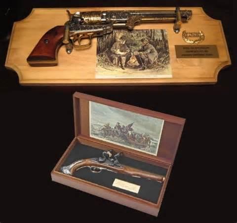 gun decor authentic replica guns used as interior decor