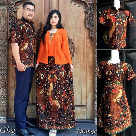 Nakusa Busana Pasangan Sarimbit Baju Pesta Batik Modern Busana 16 model baju batik keluarga modern elegantria