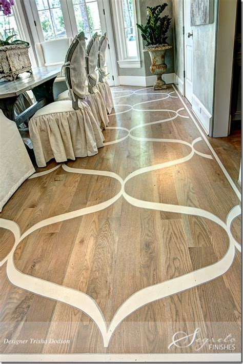 pretty painted floors with flower designs painted wood floors sarah catherine design
