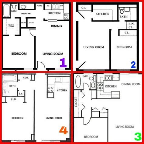 bedroom floor plans  square blue prints