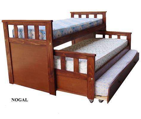 cama nido cama nido de cipres lustrada amoblamientos as venta