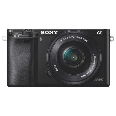 Sony Mirrorless A6000 Kit 16 50mm sony a6000 mirrorless with 16 50mm lens kit mirrorless kits best buy canada