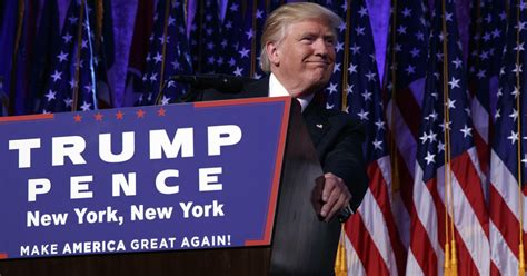 donald trump s unthinkable election president elect trump vows to bring nation together as