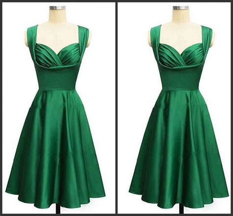 Branded Green Dress For And Size 7y Until 14y gorgeous 2017 style emerald green knee length cocktail or homecoming prom evening dress formal