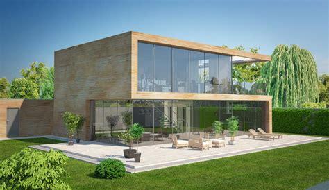 Holz Oder Steinhaus by Hausbau Modern Modell Solaris Als Massivhaus Fertighaus