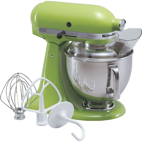 kitchen aid stand mixer kitchenaid green apple artisan 5 quart tilt stand mixer ksm150psga 883049012513 ebay