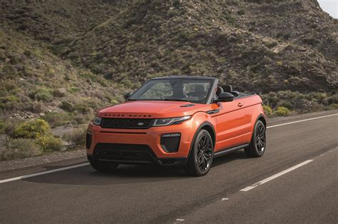 land rover evoque 2017 2017 range rover evoque convertible first look
