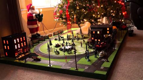 lionel christmas tree layout 2012 youtube