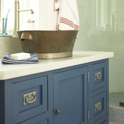 blue bathroom vanity cabinet to da loos a dozen fun blue bathroom vanities