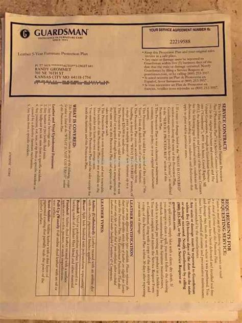 Furniture Protection Plan Review by Guardsman The Worst Shopping Experience Of Sep