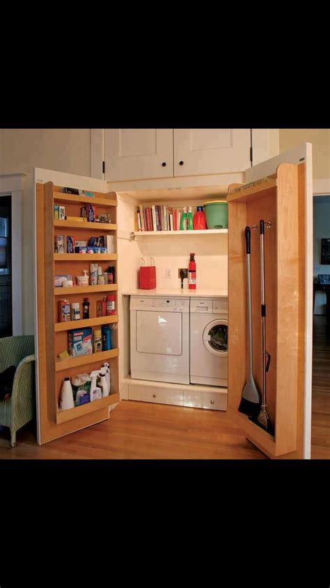 laundry rooms storage and doors replace bifold doors with doors that swing out more