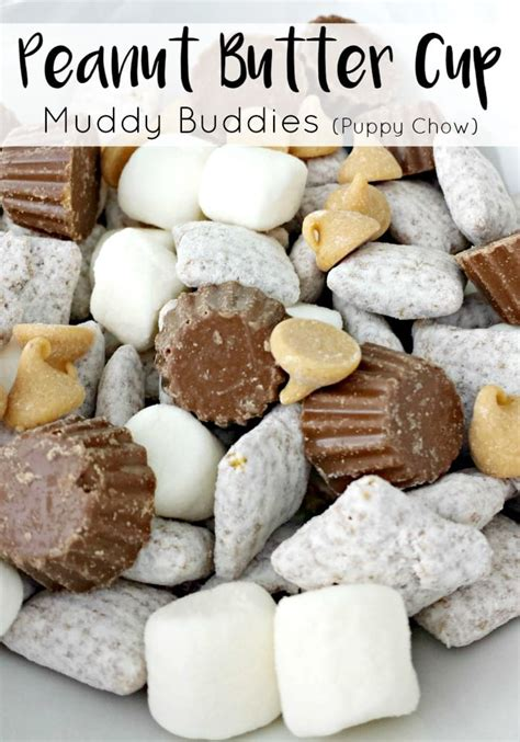 puppy chow recipe with peanut butter peanut butter cup muddy buddies moments with mandi