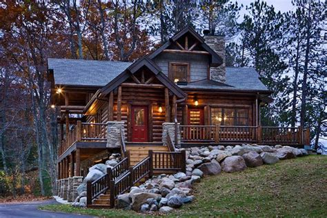 cabin co 12 real log cabin homes take a tour