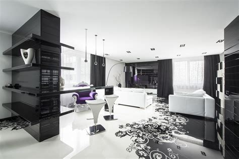 Black Home Decor by Black And White Graphic Decor