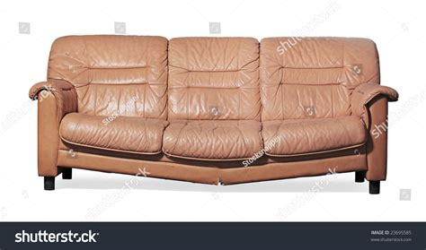 doing dirty on the couch ugly broken dirty couch on white stock photo 23695585