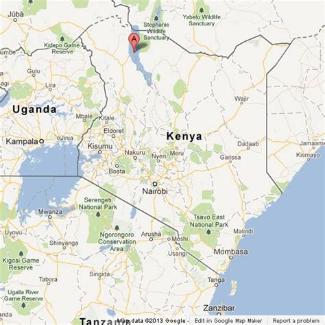 world lake rudolph map lake turkana on map of kenya world easy guides
