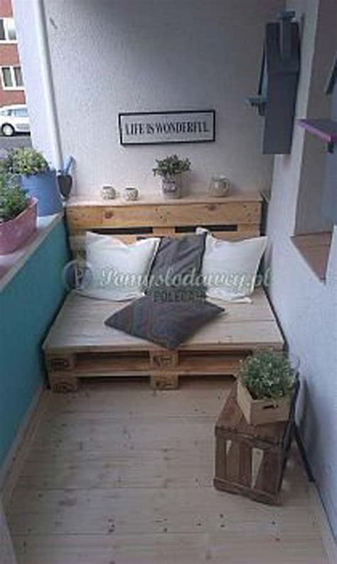 holzpaletten sofa 26 tiny furniture ideas for your small balcony amazing