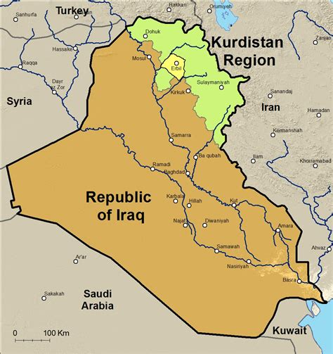 map of iraqi kurdistan new explorations in the of assyria cities and
